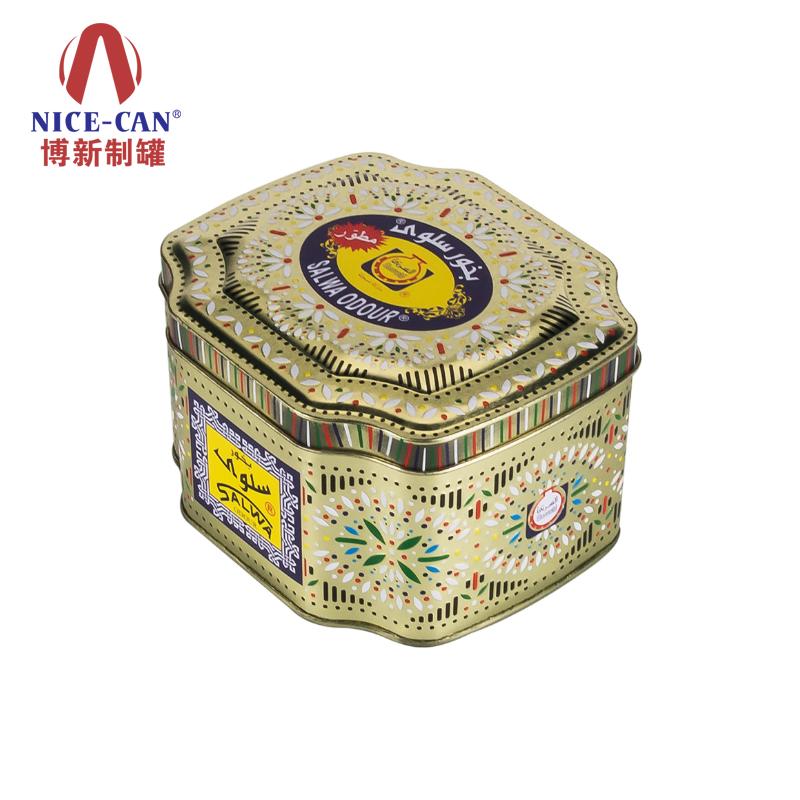 保健品铁盒|异形马口铁盒|印花铁盒包装|翻盖铁盒 NC2555-001