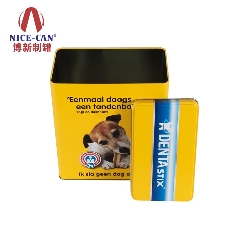 狗粮铁罐|长方形铁盒|食品铁盒|卡通包装铁盒 NC2676-003