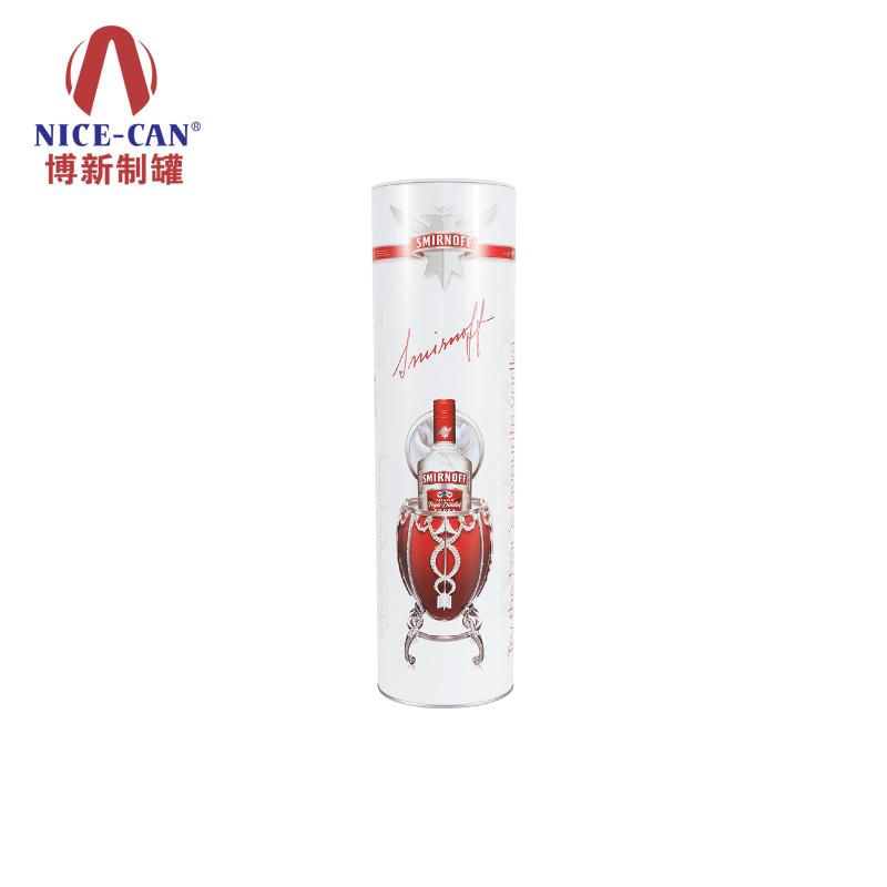 圆形铁盒|酒包装铁盒|马口铁酒罐|白酒铁盒包装 NC2711-002