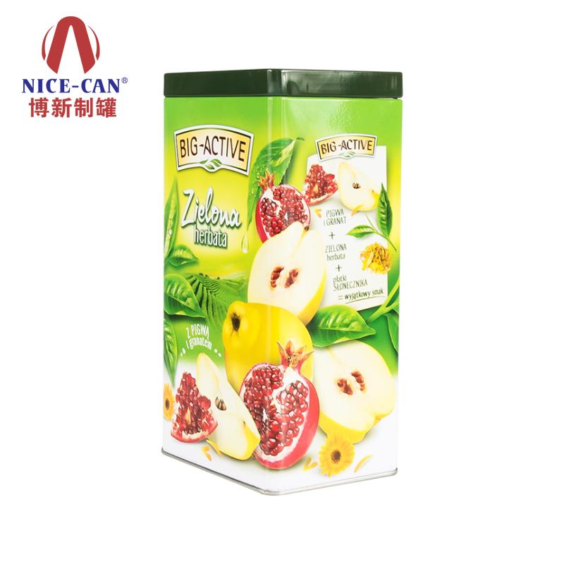 果仁铁罐|长方形铁盒|食品铁盒包装 NC2719H-001