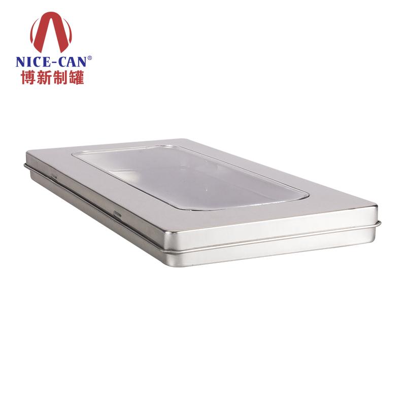 卡片铁盒|长方形铁盒|CD铁盒|面膜包装铁盒 NC2738