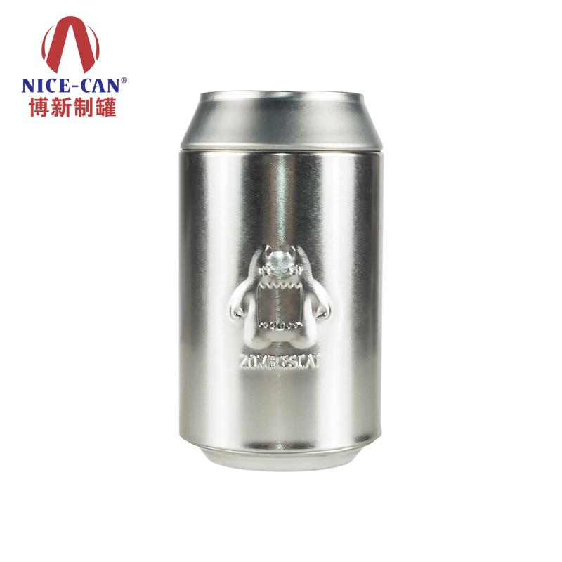 金属铁罐|茶叶铁罐|3D印刷铁罐|玩具包装铁罐 NC2811(光油有雕刻没有冲)