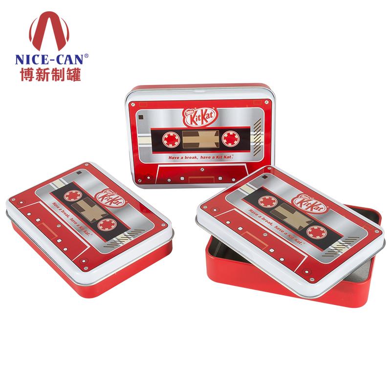 巧克力铁盒|kitkat巧克力包装铁盒|食品铁盒 NC2982-015