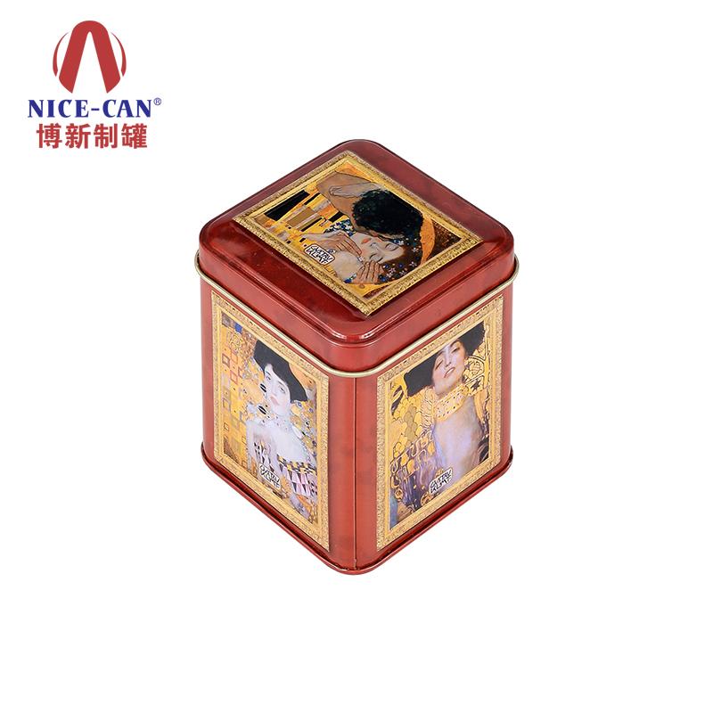 保健品铁盒|礼品包装铁盒|正方形铁盒|铁盒定做 NC2520-020