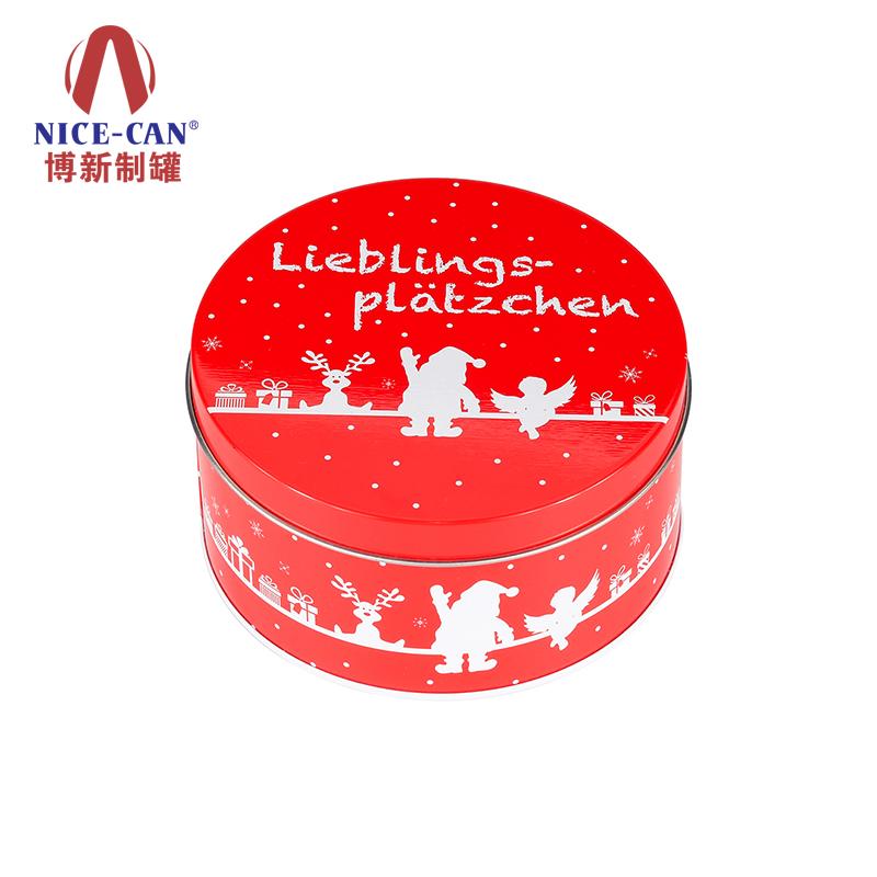 礼品铁盒|圣诞节礼品铁盒|糖果铁盒|马口铁盒 NC2607H-H150-001