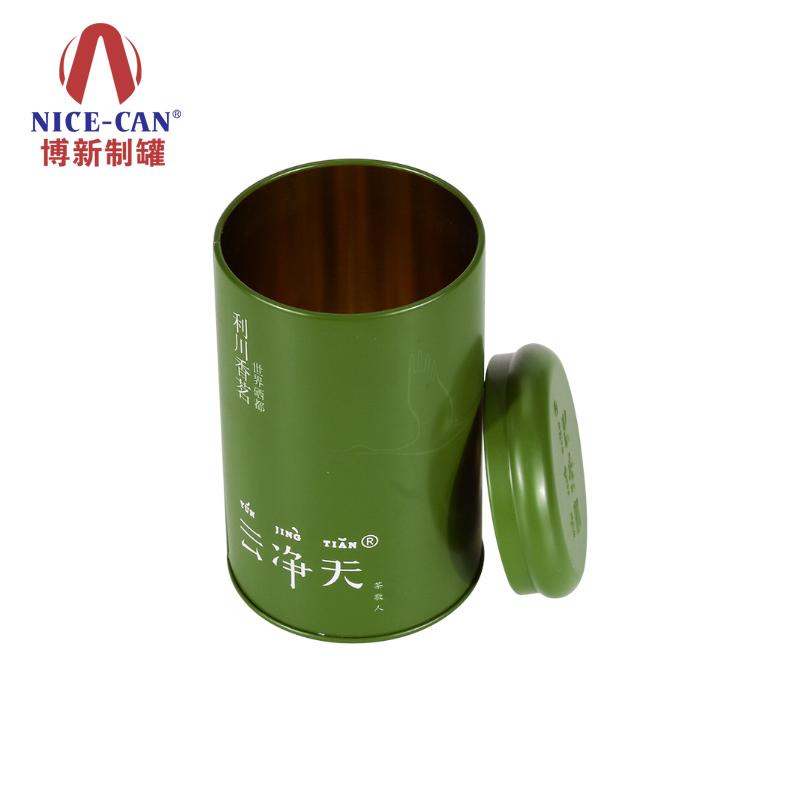 马口铁茶叶铁罐|圆形铁罐|茶叶铁盒包装|铁罐制作 NC2849B-019