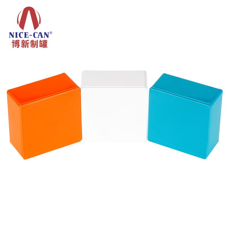 礼品铁盒|正方形铁盒|马口铁小盒子|戒指铁盒 NC3069