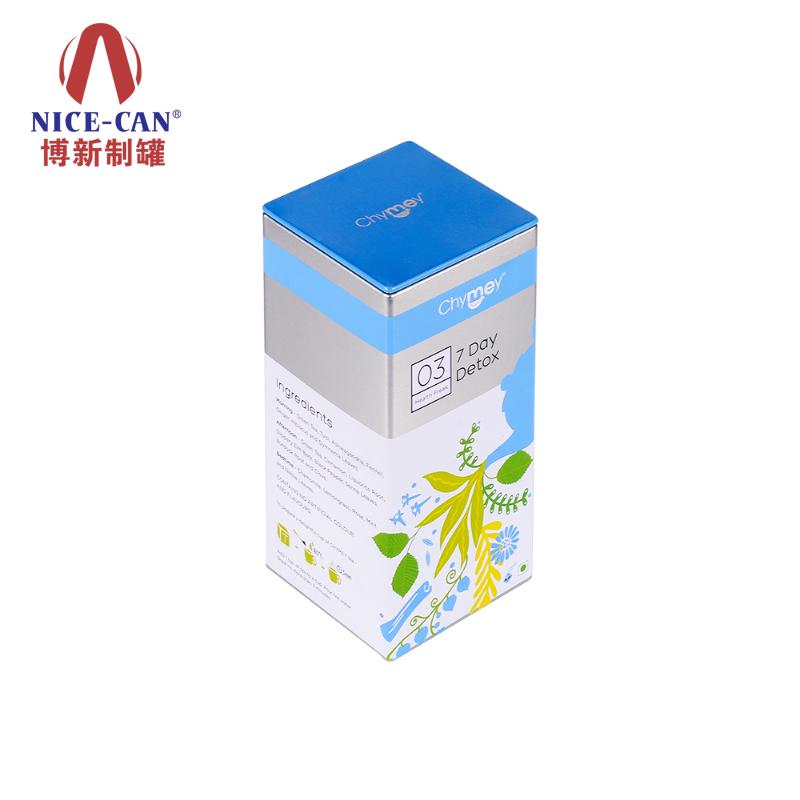 马口铁茶叶罐|长方体茶叶罐|茶叶铁盒包装 NC3069A-009