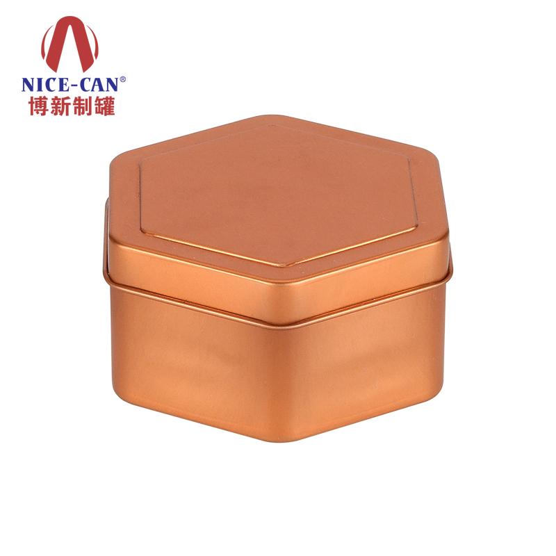 异形铁盒|六边形铁盒包装|马口铁茶叶罐|礼品铁盒定制 NC3177-001