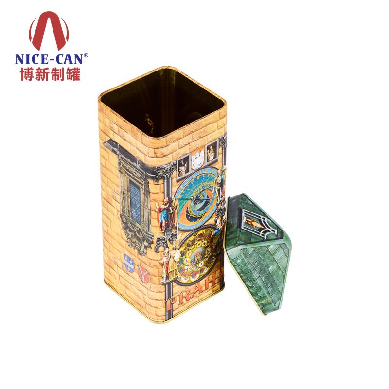 礼品包装铁盒|茶叶包装铁罐|长方形铁盒|铁盒定制 NC3260-001