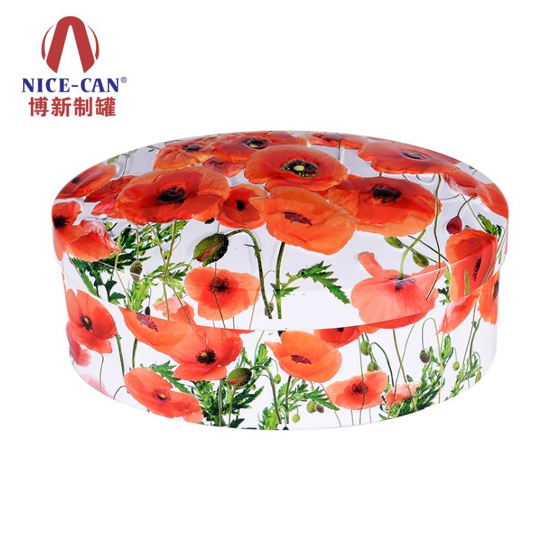 化妆品铁盒|保健品铁盒|圆形铁盒|铁盒加工厂 NC3072