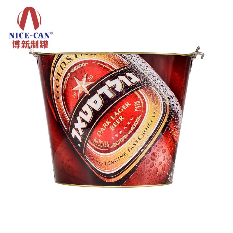 冰桶|马口铁桶|印铁制罐厂家|马口铁罐|金属制品 NC2365-036