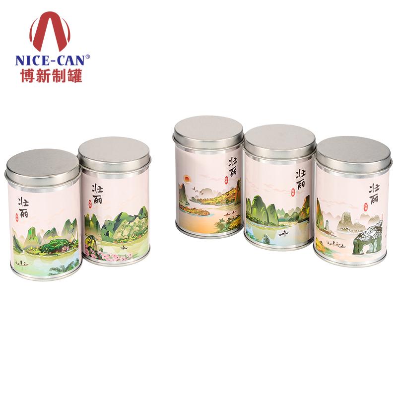 圆形糖果铁罐|通用食品铁罐|坚果铁盒 NC2938B-H93