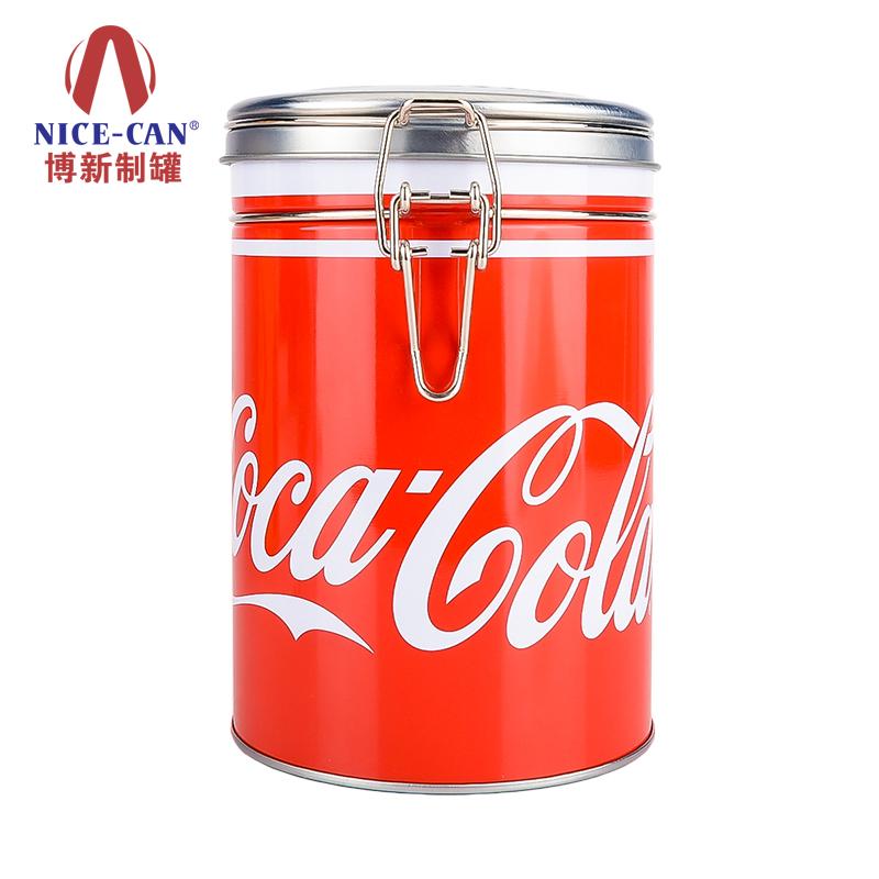 马口铁咖啡罐|铁线扣马口铁罐|马口铁食品罐 NC2002D