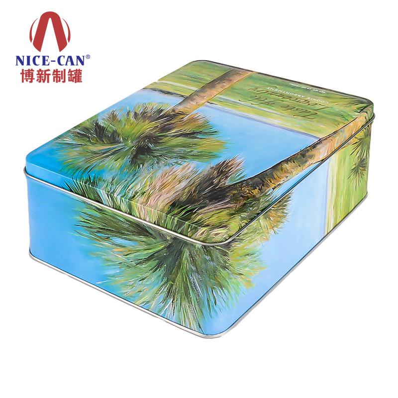 食品金属包装盒|巧克力铁盒包装|干果铁盒包装 NC2423-005