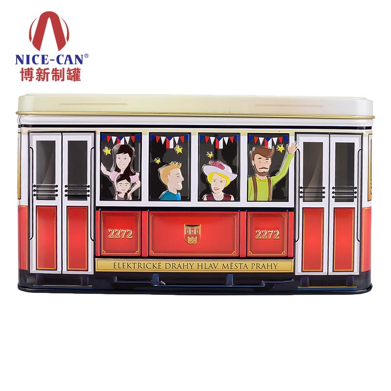 年货铁盒|游戏礼品马口铁盒|长方形马口铁盒 NC2668H-H110-001