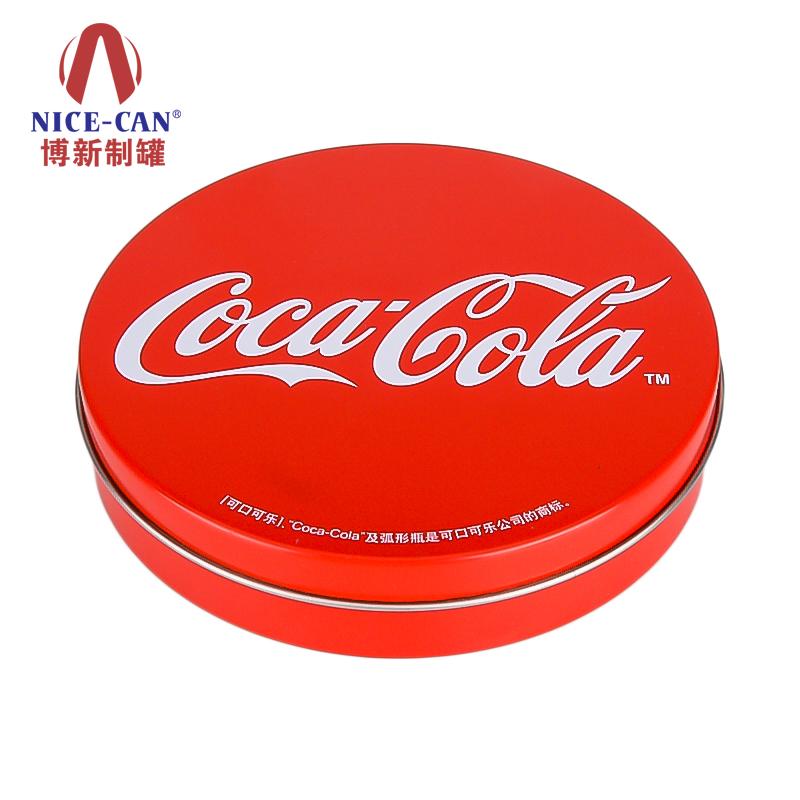 杯垫包装铁盒|圆形礼品铁盒|糖果小铁盒 NC2761-002
