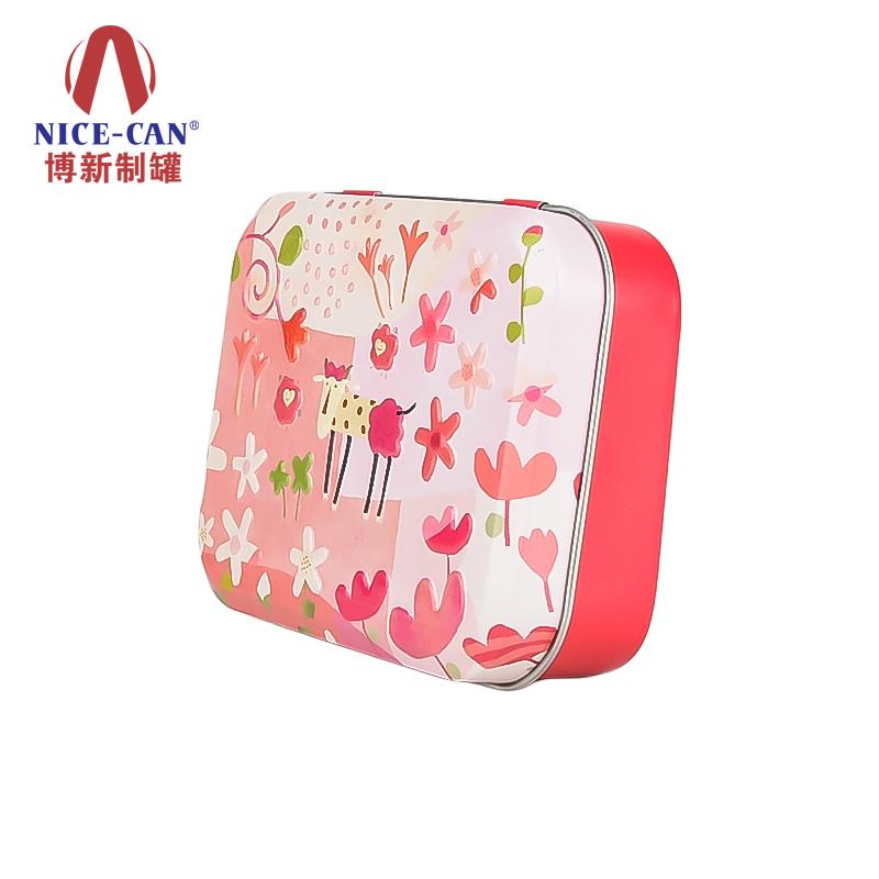 糖果小铁盒|方形糖果食品铁罐|正方形铁盒 NC3113-004
