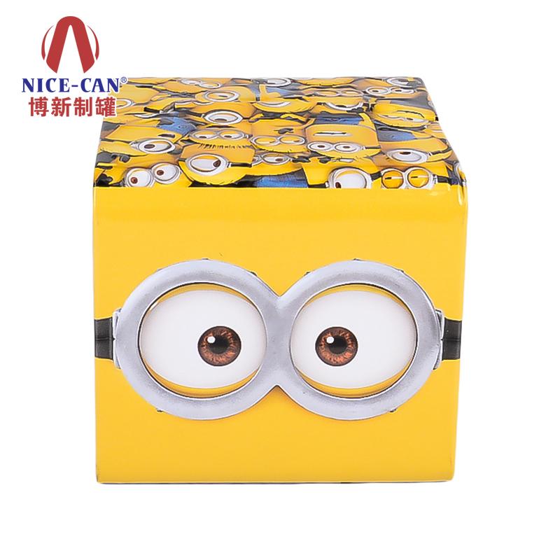 珠宝收纳铁盒 正方形储物铁盒 金属首饰盒 NC3154-003
