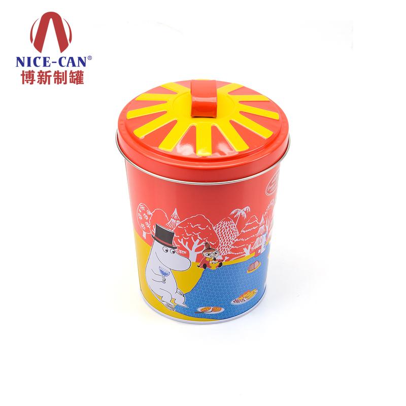 饼干罐|圆形马口铁罐|食品铁罐包装 90031300-004