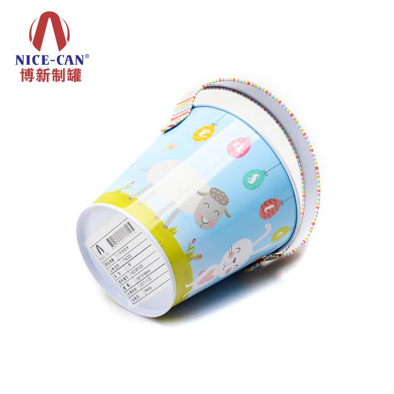 复活节糖果桶|手提马口铁桶|礼品铁桶 NC2283-035