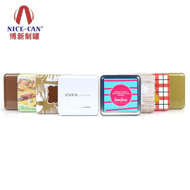 礼品小铁盒|正方形铁盒包装|铁皮包装盒 NC2494