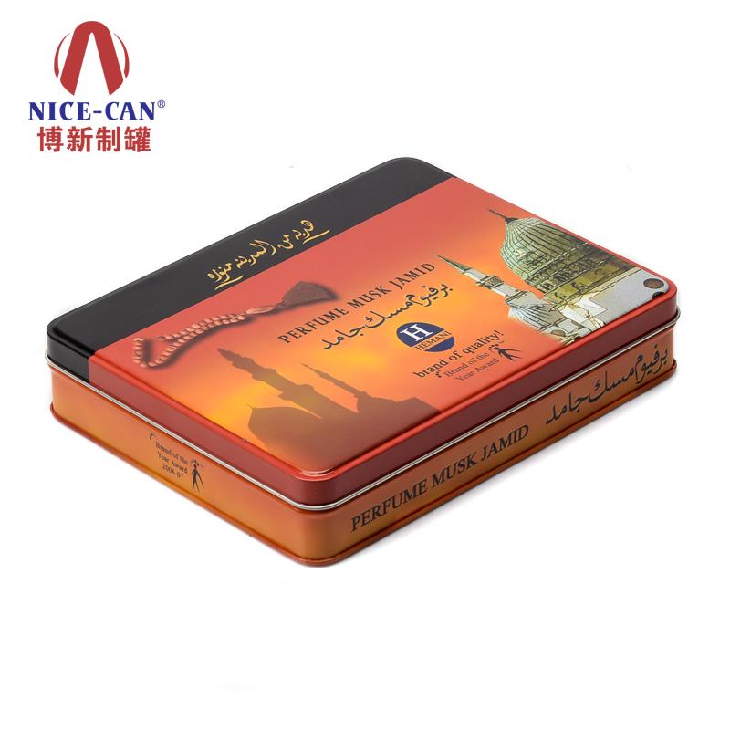 雪茄烟铁盒包装|翻盖 金属香烟盒|烟丝铁盒 NC2777-006