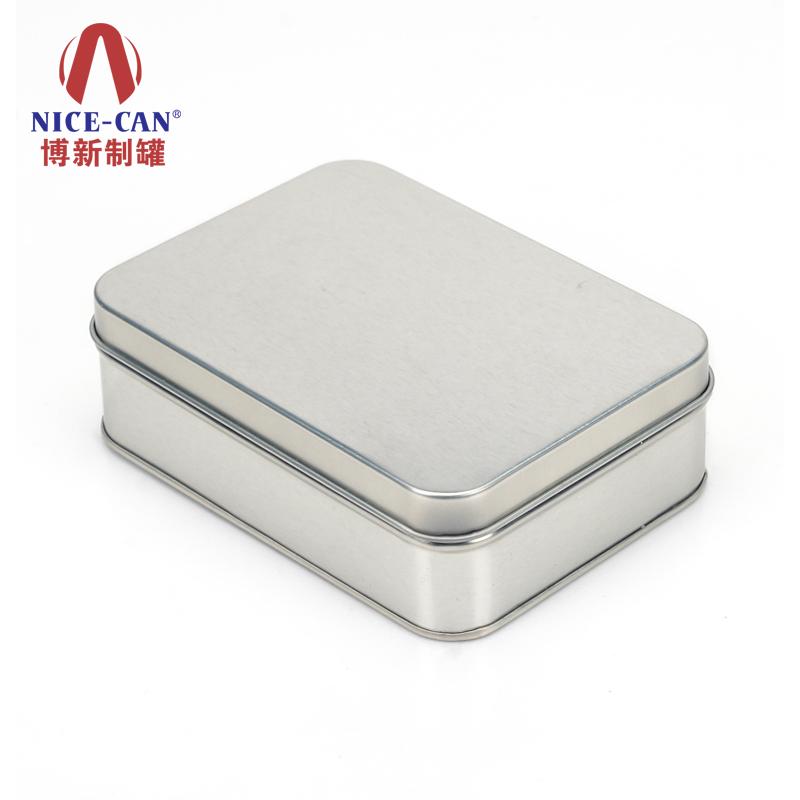 方形小铁盒|保健品外包装铁盒|磨砂铁盒 NC2825H-H40