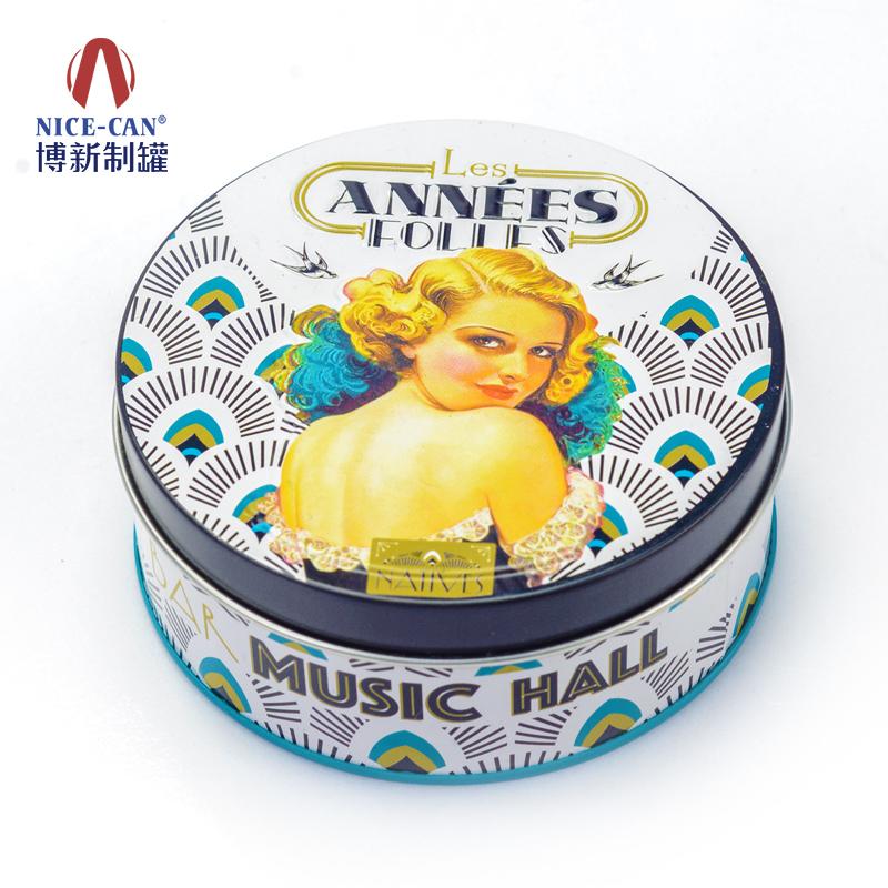 促销品包装铁盒|圆形铁盒  NC2029-035