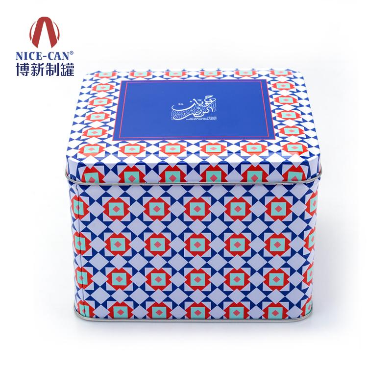 保健品包装铁盒|方形铁盒|收纳马口铁盒 NC2494H102-001