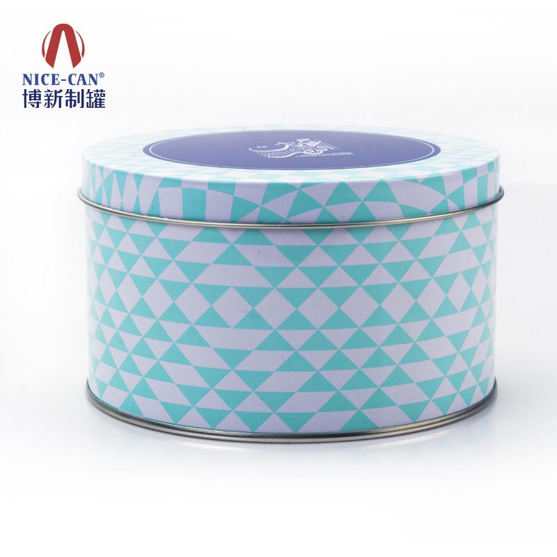爽生粉包装铁盒|圆形铁盒|通用铁盒 NC2641h73-001