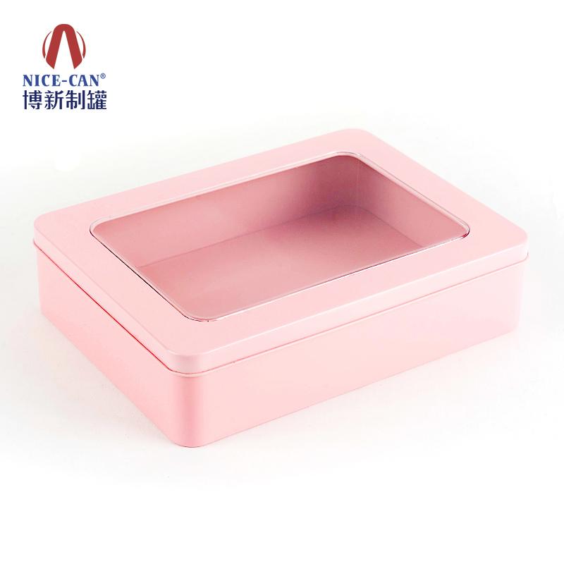 开窗铁盒|饰品铁盒|长方形铁盒 NC3157A-005