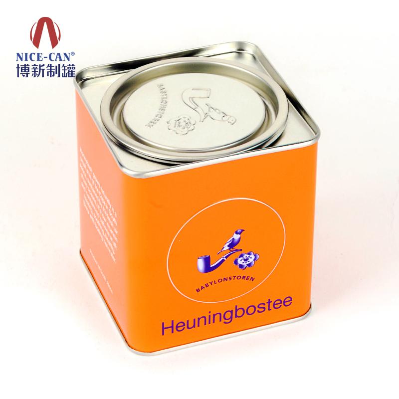 茶叶铁罐|方形茶叶罐|储物罐 NC2341-008