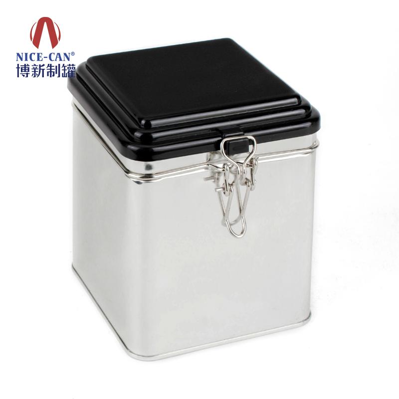 糖果铁罐|方形铁罐|咖啡铁罐 NC2561H