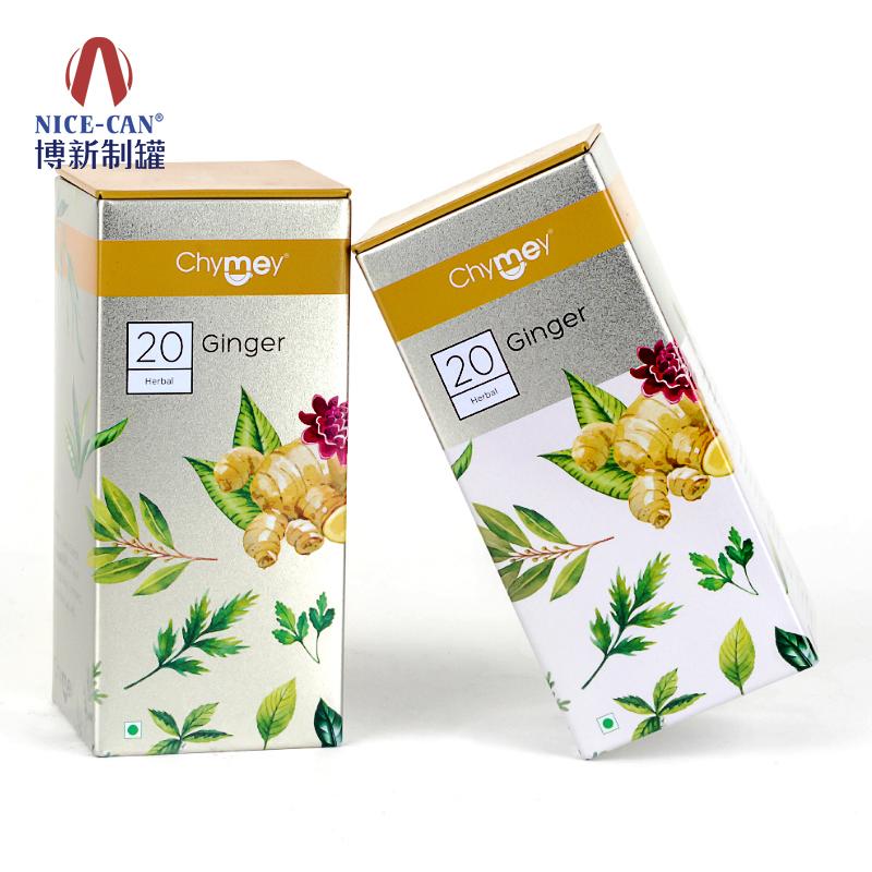 茶叶铁盒|保健品铁盒|方形马口铁盒 NC3069A-029