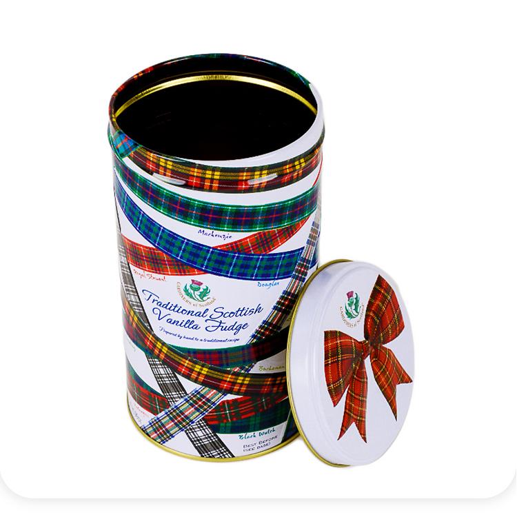 饼干包装铁罐|茶叶铁罐|圆形包装铁罐|糖果铁罐 NC2849-008