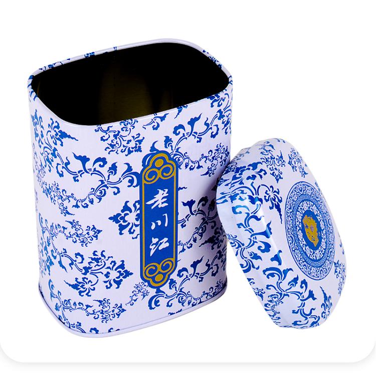 马口铁茶叶铁罐|长方形茶叶铁罐|茶叶铁盒包装 NC3203CQ-H133-001