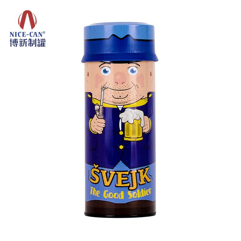 礼品铁罐|饼干罐|马口铁糖果罐|圆形铁罐 NC3302-001