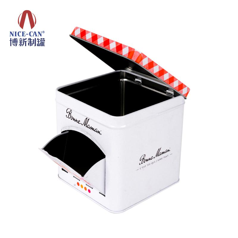 饼干铁盒包装|食品马口铁盒|马口铁饼干盒|异形铁盒 NC3311-001