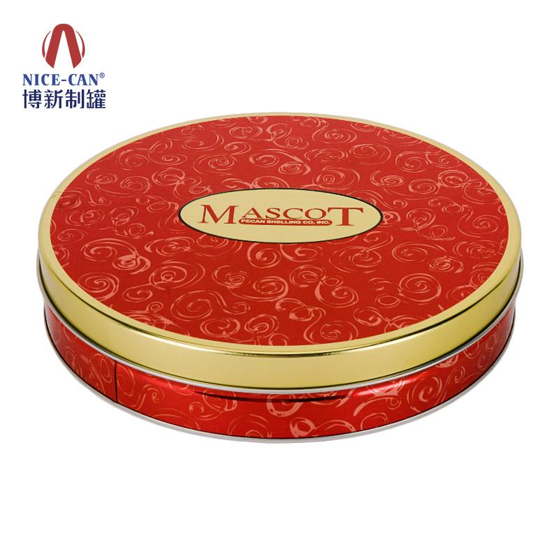 曲奇饼干铁盒|圆形饼干铁盒|曲奇包装铁盒|饼干铁盒包装 NC3312-001