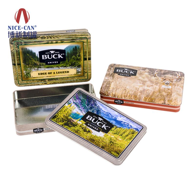 饼干包装铁盒 保健品包装铁盒 马口铁饼干盒 长方形铁盒 NC2403B