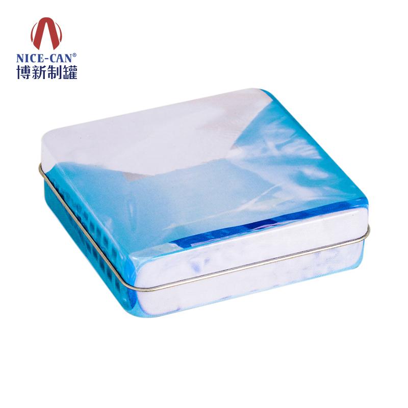 小铁盒包装|糖果小铁盒|方形小铁盒|糖果包装铁盒 NC2733-004