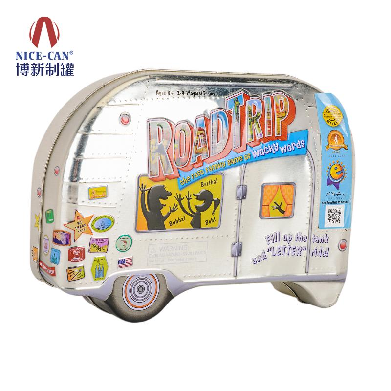 车子铁盒|玩具铁盒|玩具铁盒包装|异形包装铁盒 NC2916