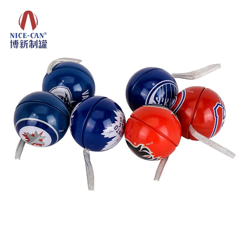 巧克力球罐|糖果包装球罐|球型糖果铁盒 NC2740