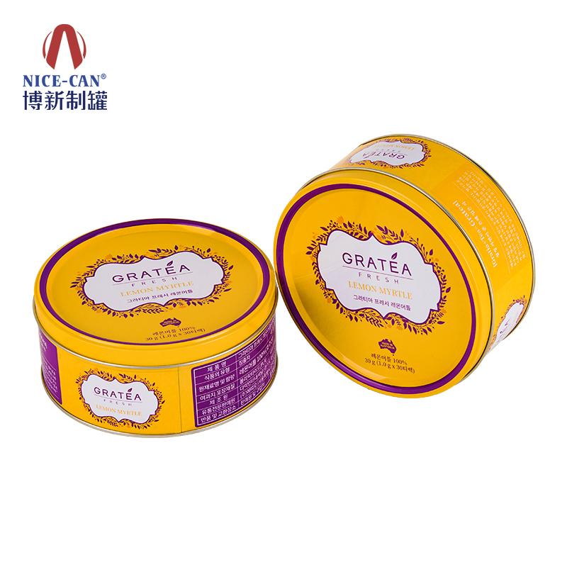 圆形马口铁盒|出口铁盒|通用马口铁盒|铁盒子包装 NC2969-H60-026/027