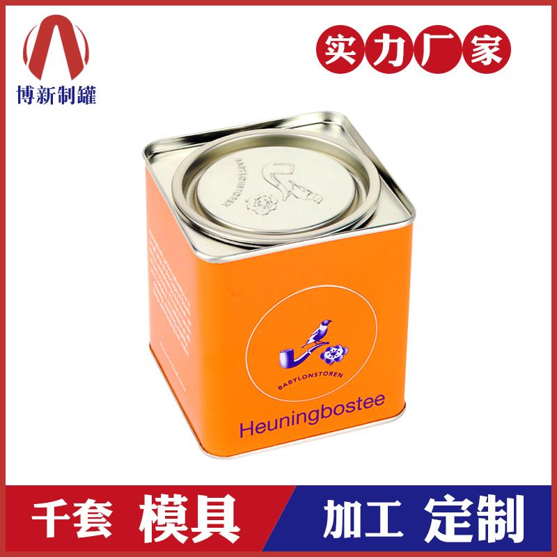 茶叶铁罐-方形茶叶罐