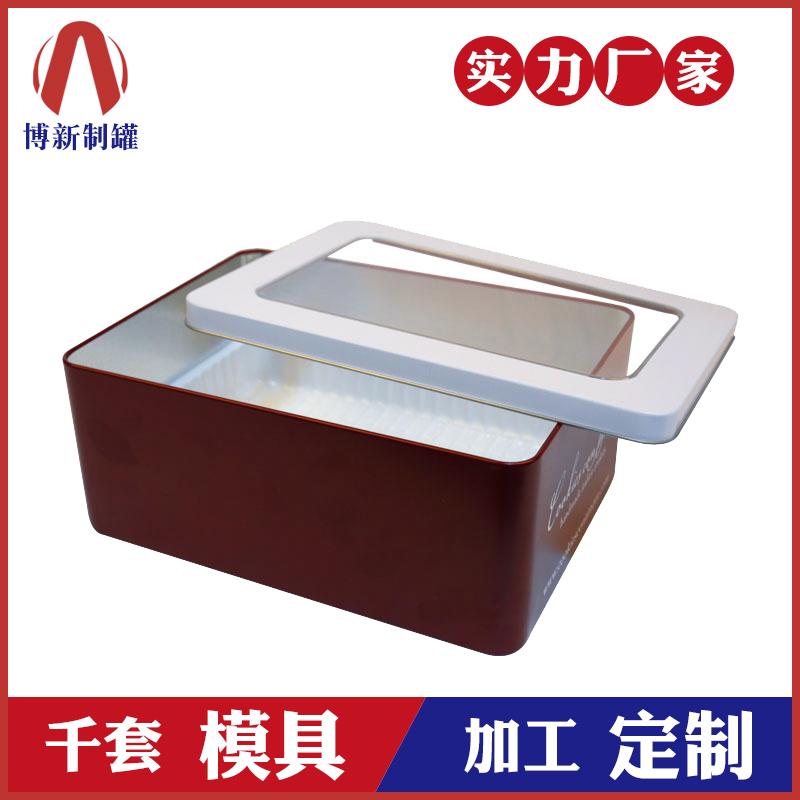 开窗铁盒-马口铁面膜铁盒