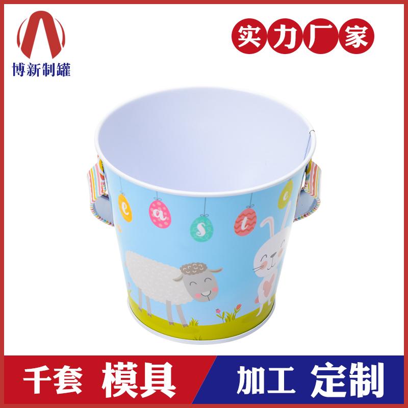 手提马口铁桶-复活节糖果桶