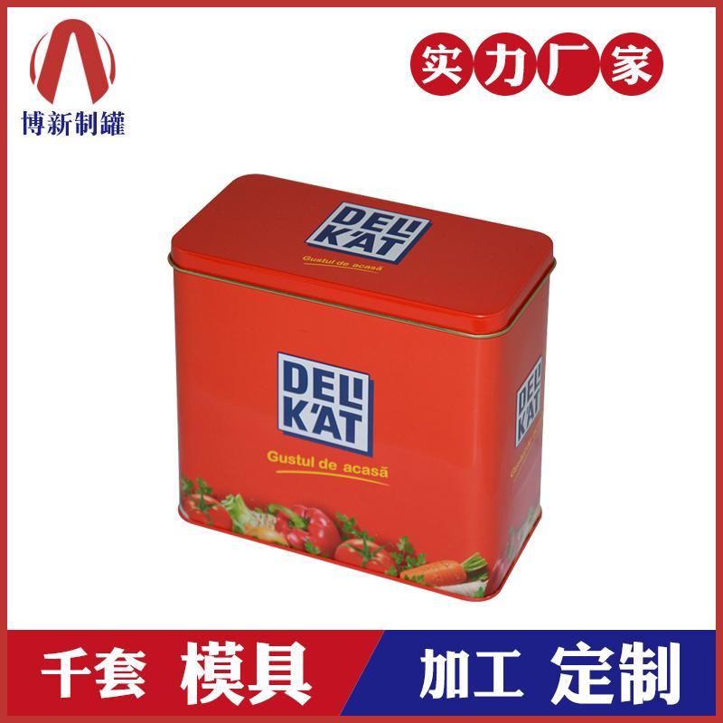 铁盒包装厂家-翻盖马口铁盒定制