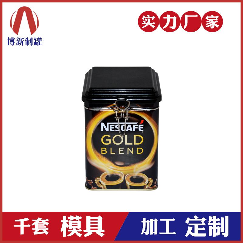 咖啡豆铁罐-铁线扣食品包装罐